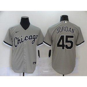 Chicago White Sox Michael Jordan Gray  Jersey